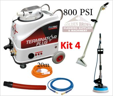 Polivac Terminator Plus Mini Wet Extraction Kit 9