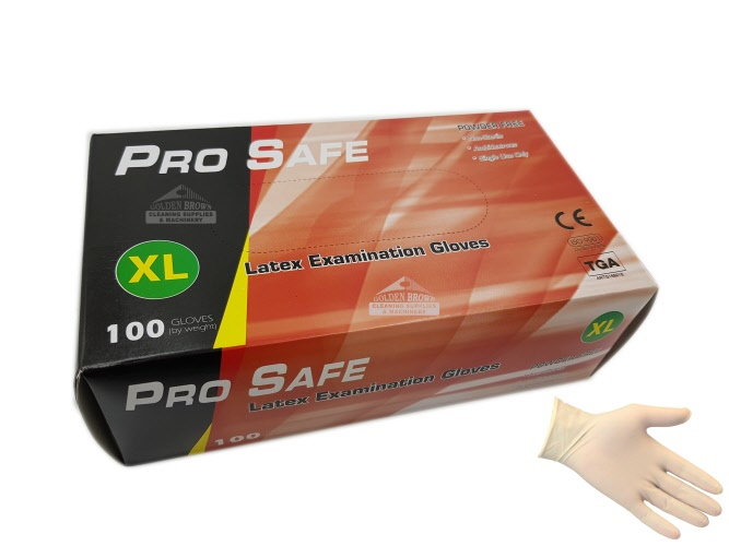 44e5214772ccb g2 ml4 nitrile latex gloves medical pro safe clear natural, powder free b1
