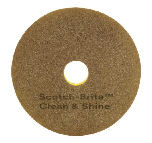 400 Mm Scotch Brite Clean Amp Shine Pad 40 Cm 16 Quot Each