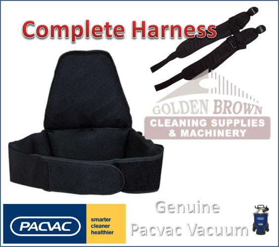 Harness Kit, Padded Back, Elastic Hook Loop Fasteners Hip Band ...