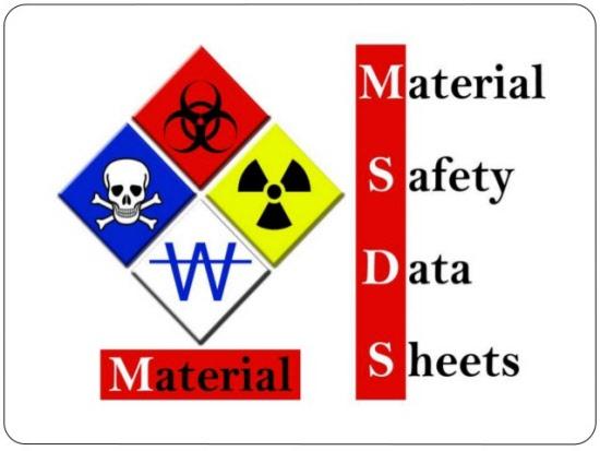 MSDS Sheet